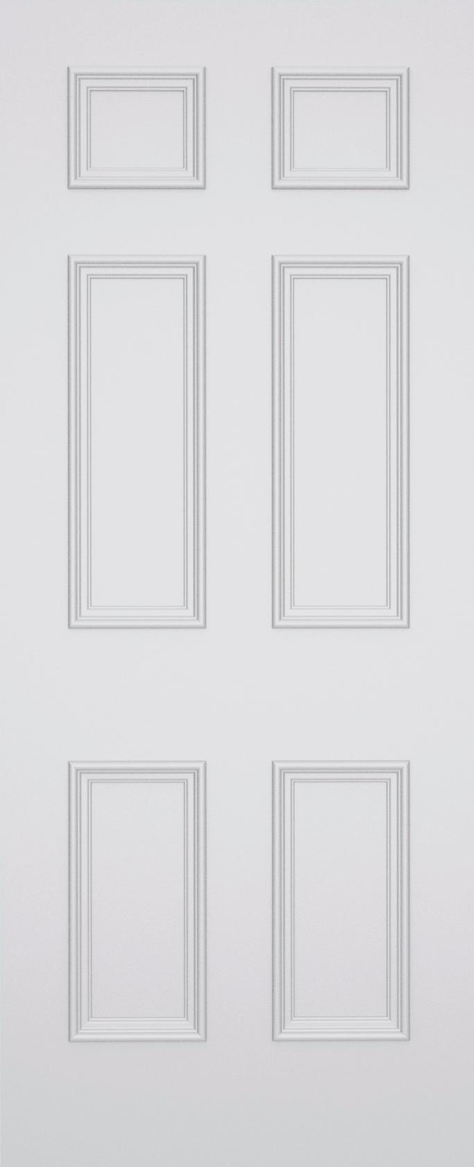 Sestina Stratford 6 Panel Fire Door