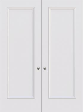 Knightsbridge 1 Panel Double Door