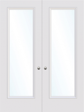 Cardiff single panel glazed interior door from Trunk Doors, Bespoke fire resistant cu