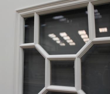 Georgian Pattern Single Glass Door