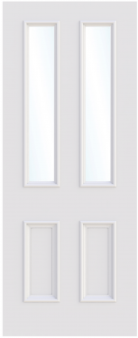 Bristol Single Glass Fire Door