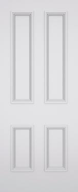 Classic Balmoral 4 Panel Fire Door
