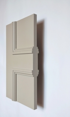 Side detail of The FD30 Classic Balmoral 4 panel internal made to measure fire door
