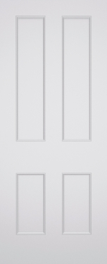 Classic Bloomsbury 4 Panel Fire Door