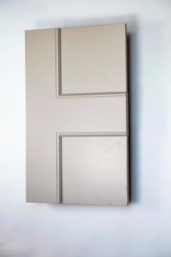 Bloomsbury panel interior door from Trunk Doors, Bespoke glazed fire resistant custom