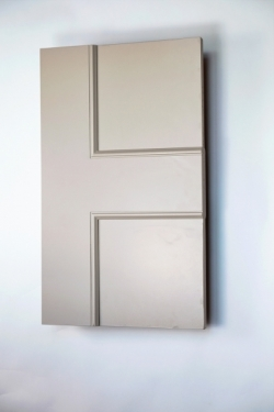 Bloomsbury Allegro 2 panel interior door from Trunk Doors and bespoke glazed fire res