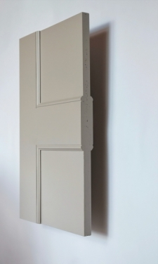 Bloomsbury 1 panel interior door from Trunk Doors, Bespoke glazed fire resistant cust