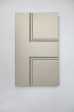 Brompton 1 panel glazed interior door from Trunk Doors, Bespoke fire resistant custom