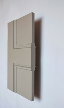 Cambridge Allegro 2 panel interior door from Trunk Doors and bespoke glazed fire resi