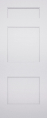 Ashbury Chelsea 3 Panel Fire Door
