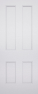 Classic Chelsea 4 Panel Fire Door