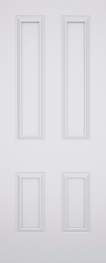 Classic Dublin 4 Panel Fire Door