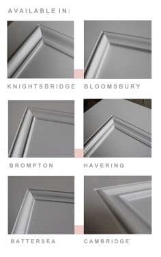 Manchester Glass Fire Door Moulding Options