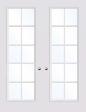 Glasgow 1 panel interior door from Trunk Doors, Bespoke fire resistant custom doors a