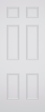 Sestina Havering 6 Panel Fire Door