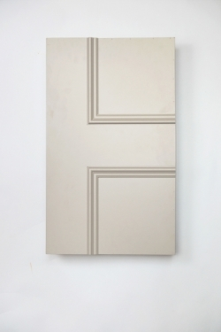 Havering 1 panel interior door from Trunk Doors, Bespoke glazed fire resistant custom