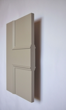 Side view of the Classic Havering 4 panel internal made to measure door