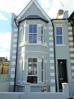 Victorian style exterior doors