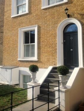 Victorian style 2 panel door