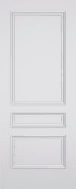 Kesh Islington 3 Panel Fire Door