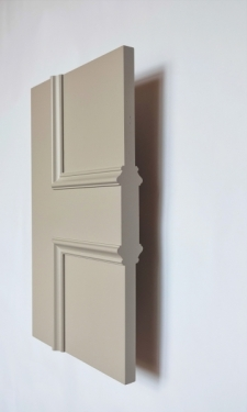 Kensington panel interior door from Trunk Doors, Bespoke glazed fire resistant custom
