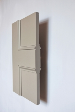 The side profile of the Classic Knightsbridge 4 panel internal made to measure door