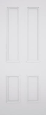 Quattro Newbury 4 Panel Door