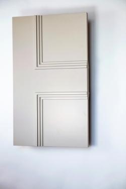 Newbury Allegro 2 panel interior door from Trunk Doors and bespoke glazed fire resist