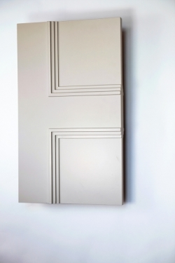 The semi-side profile of the Classic Newbury 4 panel internal made to measure door
