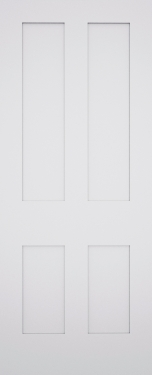 Classic Shaker 4 Panel Fire Door