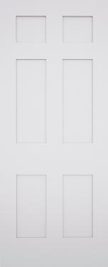 Sestina Shaker 6 Panel Fire Door