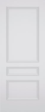 Kesh Stratford 3 Panel Fire Door