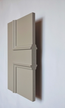 Stratford Allegro 2 panel interior door from Trunk Doors and bespoke glazed fire resi